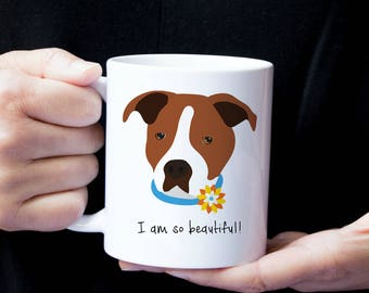 Personalized Staffordshire Terrier Mug, Customized Staffordshire Terrier Gift, Staffordshire Terrier Mug,  Staffordshire Terrier Coffee Mug