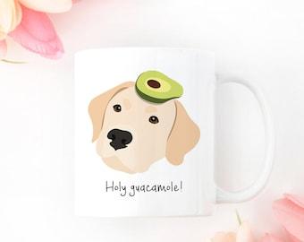 Personalized Labrador Retriever Mug, Yellow Lab Coffee Mug, Lab Coffee Mug, Custom Lab Mug, Yellow Lab Mug, Custom Lab Gifts, Lab Coffee Cup