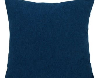 Brushed Shetland Navy Blue Cushions with Fillers Various Sizes 28cm , 36cm, 43cm , 60cm