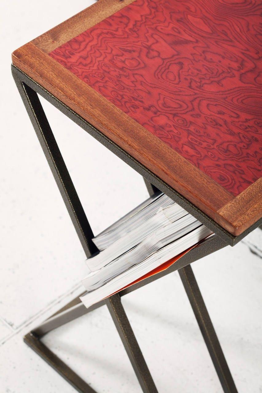 laptop tisch beistelltisch beistelltisch aus holz. Black Bedroom Furniture Sets. Home Design Ideas