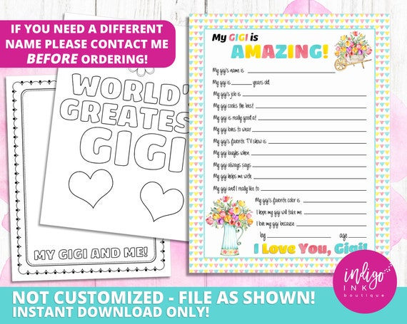 It is an image of Free Printable Mother's Day Questionnaire with 20 question