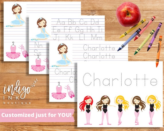 Custom Name Writing Worksheet Handwriting Worksheet DIGITAL | Etsy