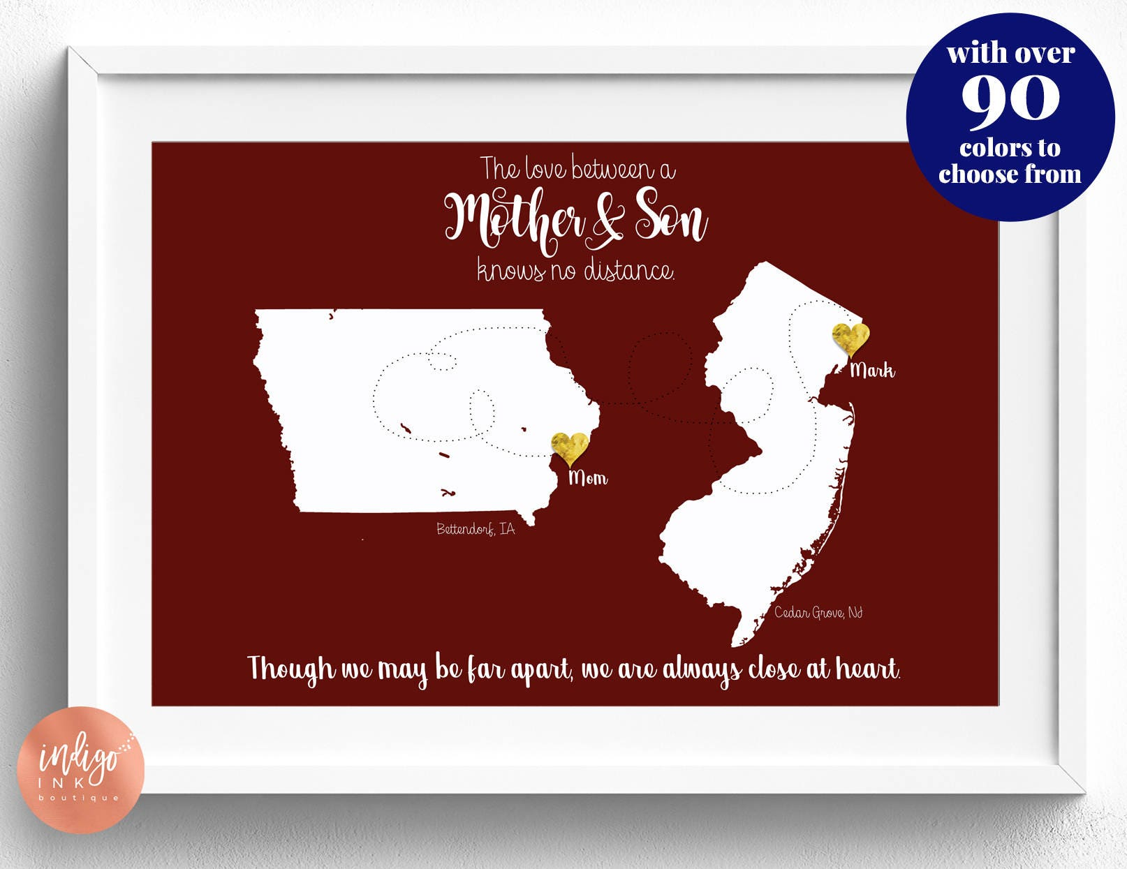 Mom Gifts from Son DIGITAL Print Mother\'s Day Gift | Etsy