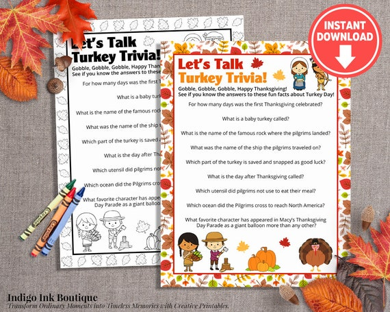 image regarding Thanksgiving Trivia Printable called Thanksgiving Enjoyment Pursuits for Young children Printable Recreation