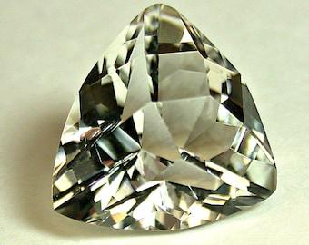 OLIGOCLASE North Carolina Faceted Gemstone Fancy Triangle 9.19cts USA08