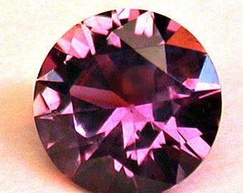 VINTAGE MONTANA Rock Creek SAPPHIRE Pink Faceted Round gemstone 1.12 cts src12