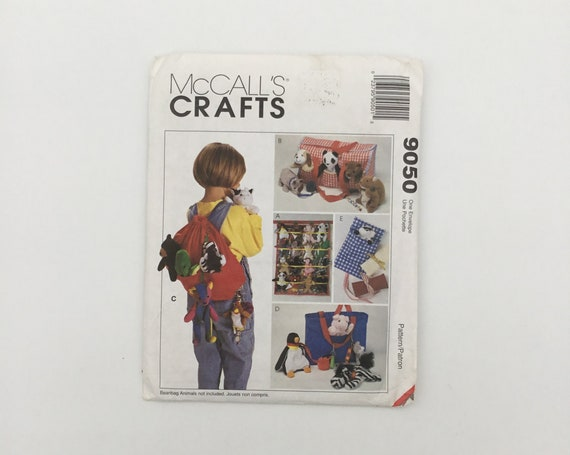 McCall's 9050 (1997) Accessories for Small Toys - Vintage Uncut Sewing Pattern