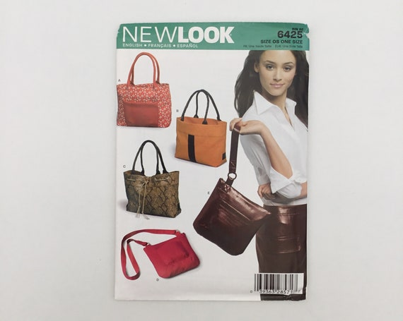 New Look 6425 (2004) Handbags and Purse  - Uncut Sewing Pattern