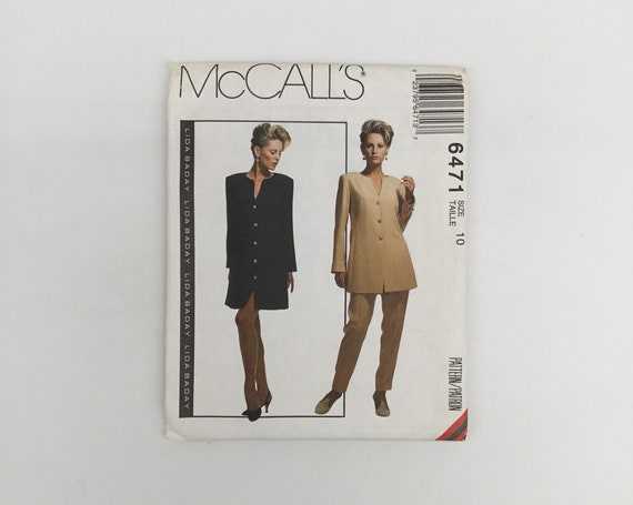 McCall's 6471 (1993) Dress, Tunic, and Pants - Multiple Sizes Available - Vintage Uncut Sewing Pattern