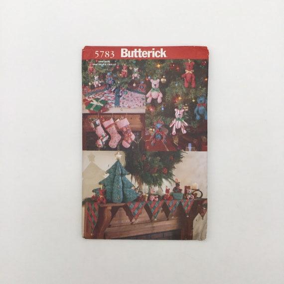 Butterick 5783 (1998) Christmas Decorations  - Vintage Uncut Sewing Pattern
