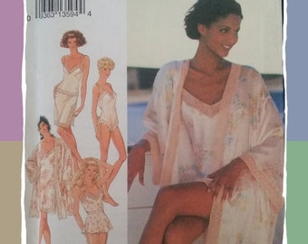 Style Set of 6 Lingerie Pieces in Sizes 6-16 ( Bust 78-97cm) - Pattern 2254