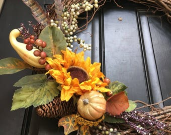 Fancy Fall Wreath