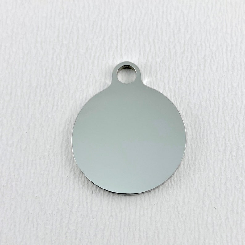 Stainless Steel Engraved Charm,Laser Engraved Round mom charm Always Better Together 050 Round Charm