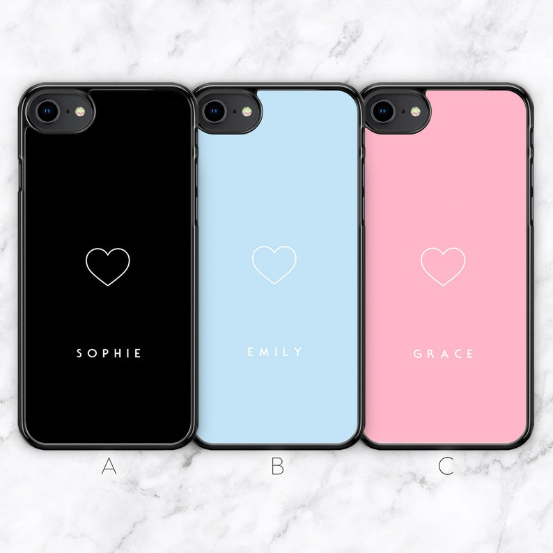 iphone 8 case personalised silicone
