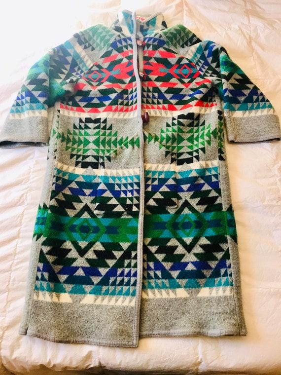 Wool Duster>Women's Medium, Native Style Jacket, S
