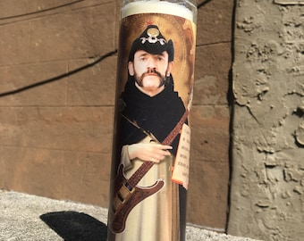 Lemmy - Prayer Candle - Ian Kilmister - Motorhead - Hawkwind - Heavy Metal  - Bass - Ace Of Spades