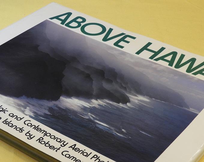 "Vintage 1977 Book ""Above Hawaii"" by Robert Cameron,White Green Collection Nostalgic and Contemporary Photos of the Hawaiian Islands,Cameron"