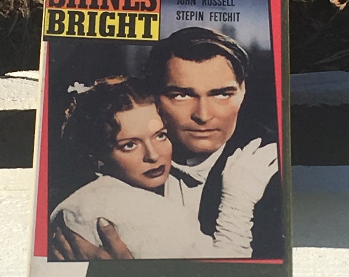 Vintage Rare VHS Promo, Unopened John Ford Movie, Old VHS Movie, 1990 Version of 1953 The Sun Shines Bright, Collectors Classics Cassette