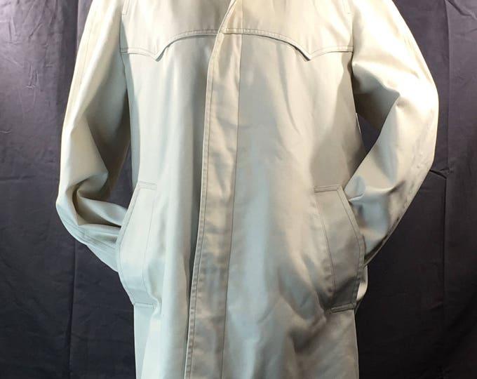 Vintage Mens Coat, Size 40 Mens Jacket, London Fog Weather Wear of Distinction, Designer Coat, Mens Clothing, Mens All Weather Jacket