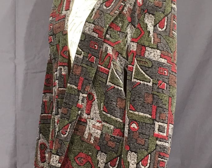 Vintage Studio Tokyo Blazer, Fresco Topwin Abstract Jacket, Decorative Gray Medium Coat, Soft Classy Clothing, Business Dress Wear,Cool Coat