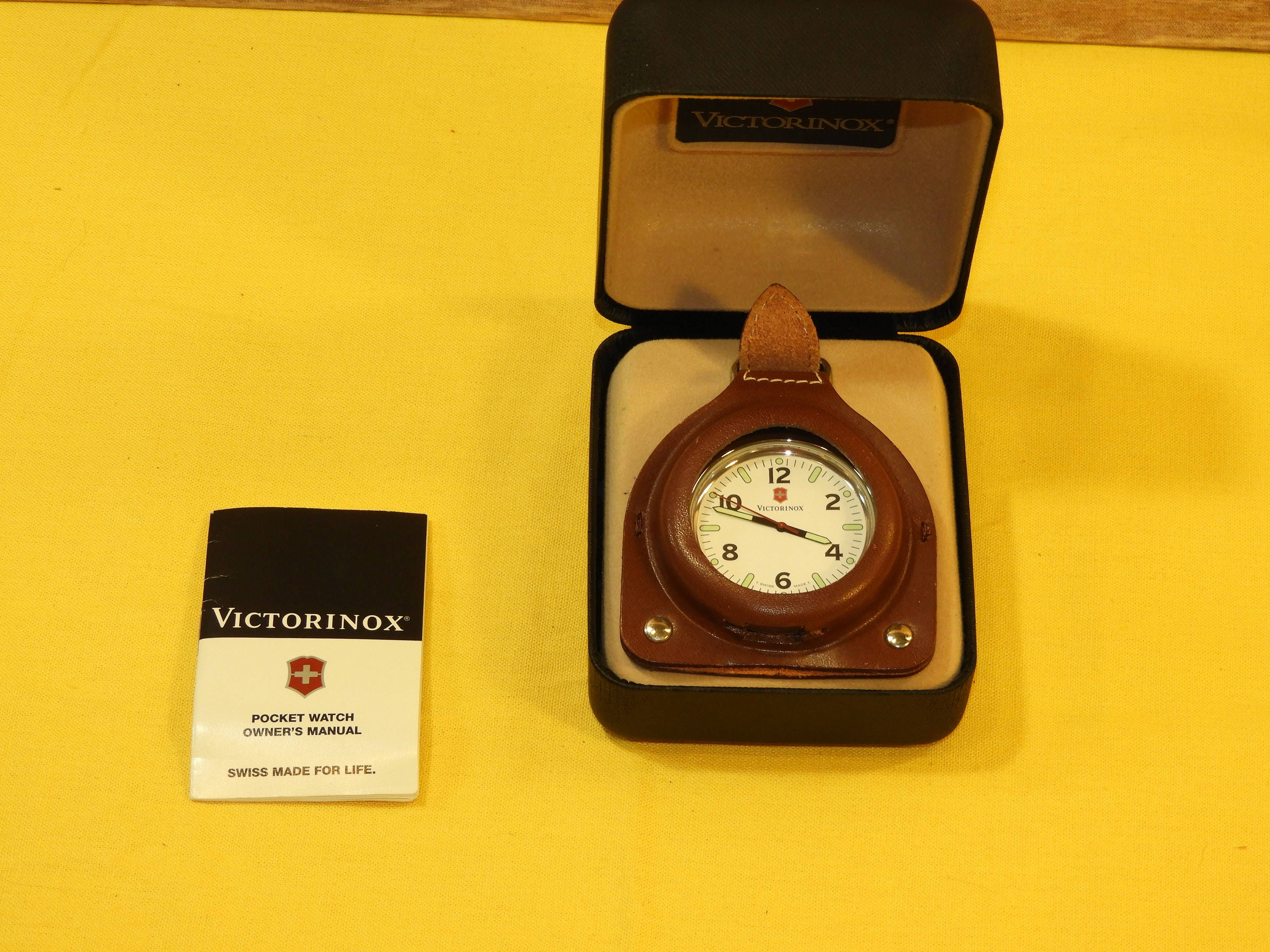 Vintage Victorinox Swiss Pocket Watch Swiss Army Knife