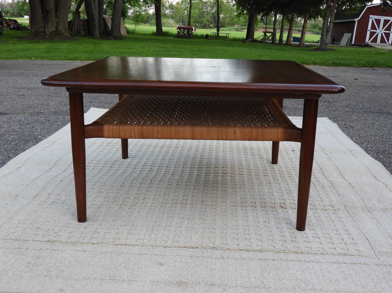 Vintage Mid-Century Teak Coffee Table, Modern Teak Wood ...