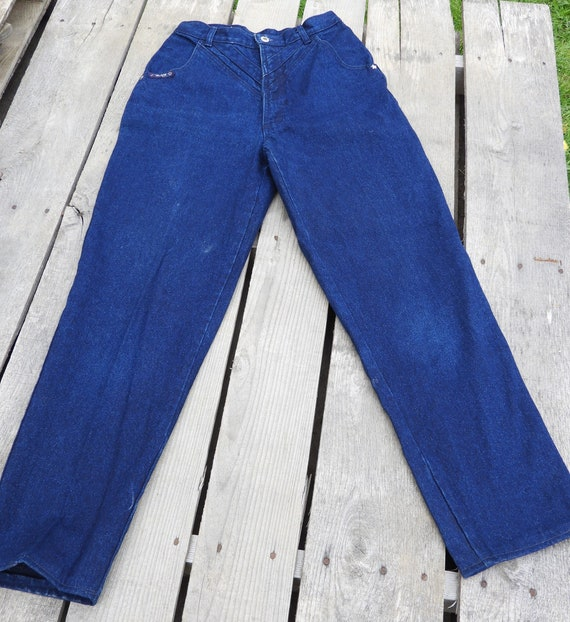 Vintage Blaze Mom Jeans, High Waist Mom Jean, 26 W