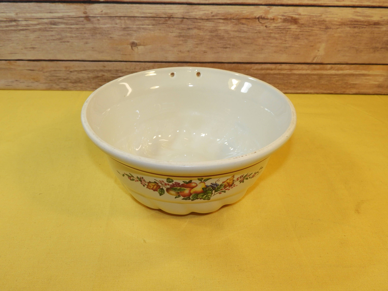 Vintage Ceramic Pudding Jello Mold,White Decorative Wall Hanging ...