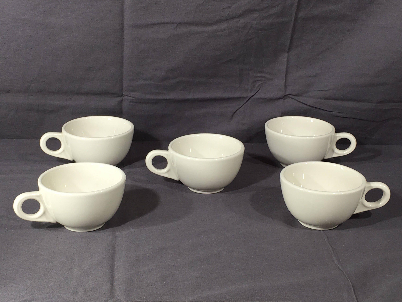 Laughlin ChinaDecorative White Mugs5Collectible Vintage Homer H2E9DI