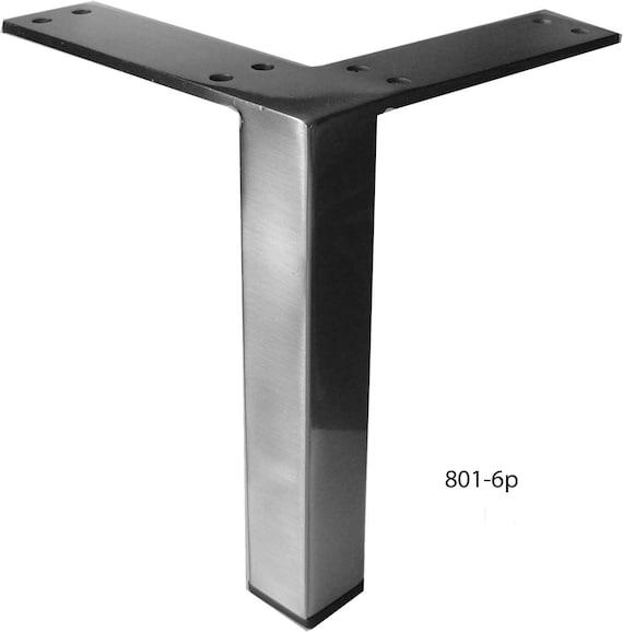 Straight Square Metal Furniture Legs, Metal Furniture Legs