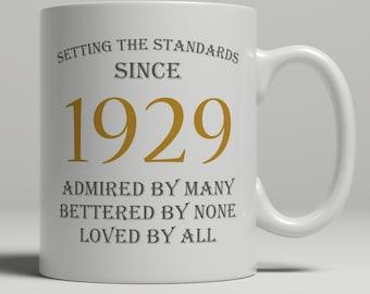 90th Birthday Gift Gran Grandparent 90 Year Old Mug