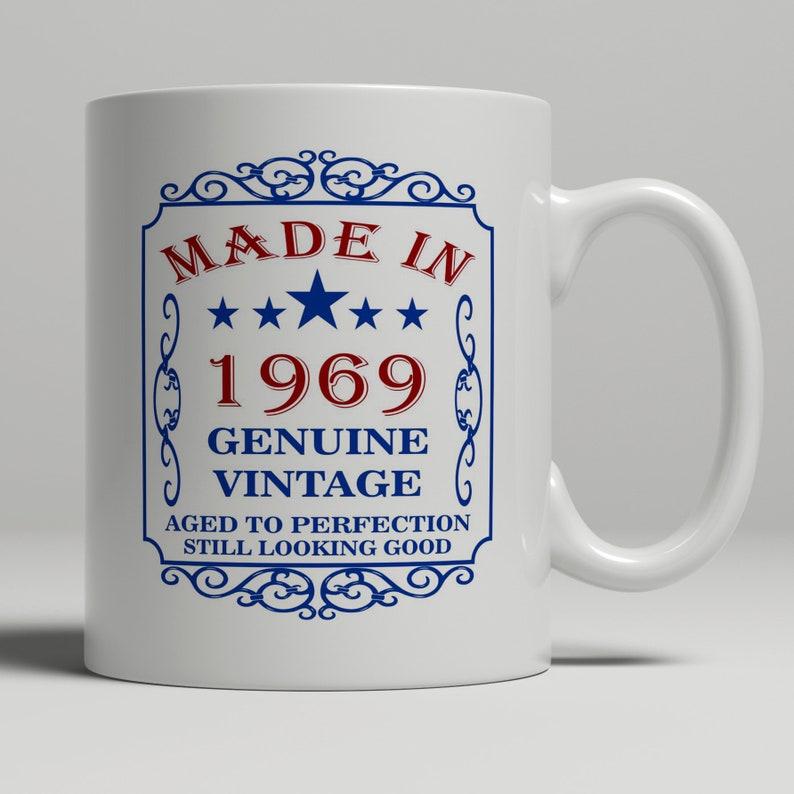 50th Birthday Gift For Men Mug Dad