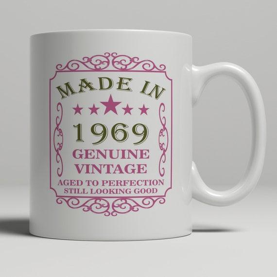50th Birthday Gift For Women Born In 1969 Gift Mug For Mom