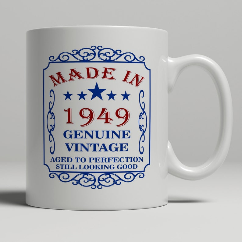 70th Birthday 1949 Gift Idea Happy Present For 70 Year Old