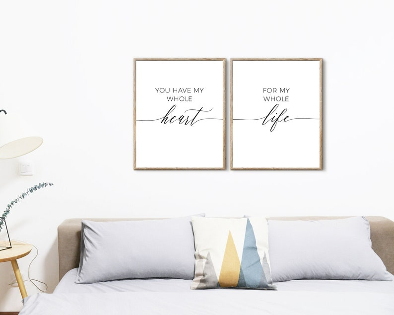 bedroom prints quotes wall art printable,wall decor bedroom above  bed,couples bedroom wall art,love prints bedroom,master bedroom prints