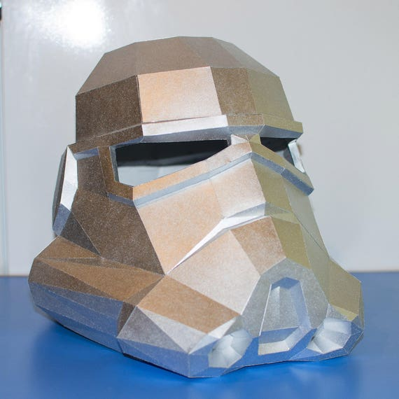 Stormtrooper Helmet Template Instruction Printable Mask