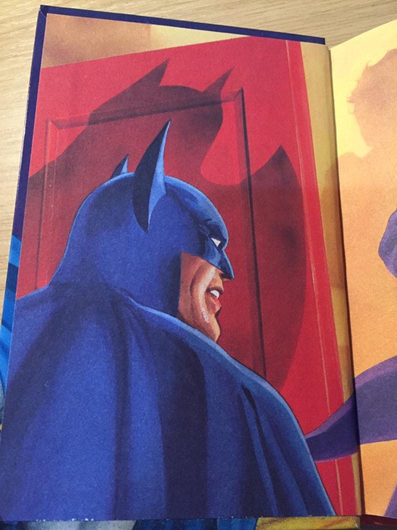 FIRST EDITION - 1989 Vintage/Retro Batman Funhouse Of Fear Ladybird Book -  30th Birthday Gift