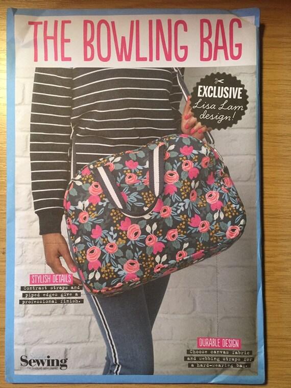 Simply Sewing Magazine Bowling Bag Sewing Pattern NEW//UNCUT