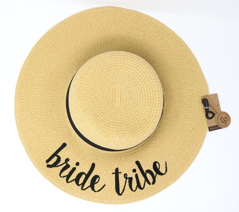 CC Beanie Bride Tribe sun hatBridal party giftbridal party  817c8bc3dc4