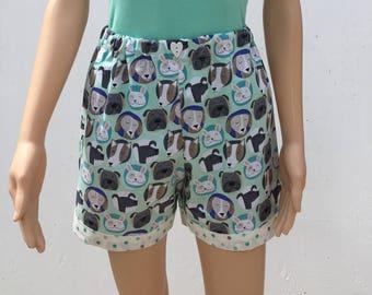 Dog Pajama Shorts Set