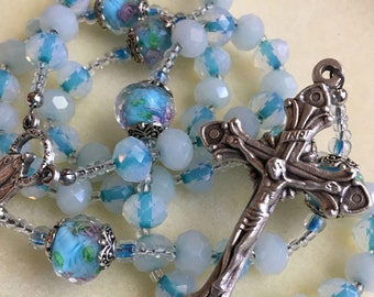 Princess Rosary, Cinderella Rosary, Bridal Rosary. Our Lady of Grace Miraculous Medal Center.
