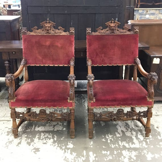Pair Of Exquisite Louis XIV Chairs