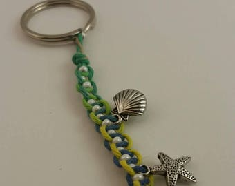 Shelby Sells Sea Shells by the Sea Shore - Key-Chain