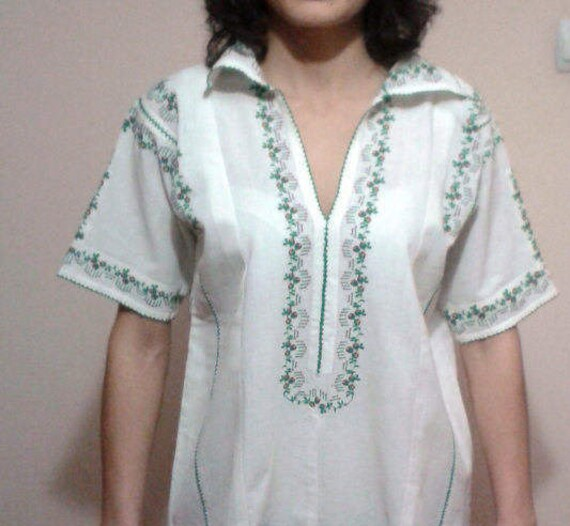 Genuine Woman Blouse Exquisite Handmade Embroidery