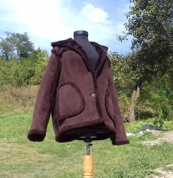 Brown Faux Fur Coat,Brown Faux Fur Winter Coat,Win