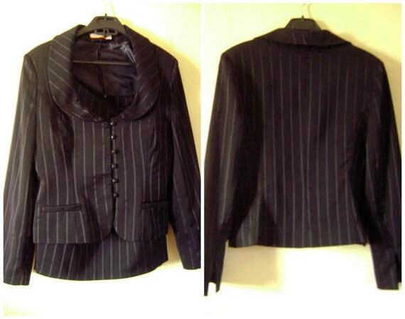 Womens Black Office Suit,Womens Suit TWO Pieces Ou