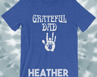 979883032 Grateful Dad T Shirt Grateful Dead Deadhead / Jerrys Hand Print / Mens  Grateful Dead Fathers Day Gift for Dad S M L XL 2XL 3XL 4XL 5XL