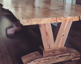 20c551f44851 Handcrafted Live Edge Table