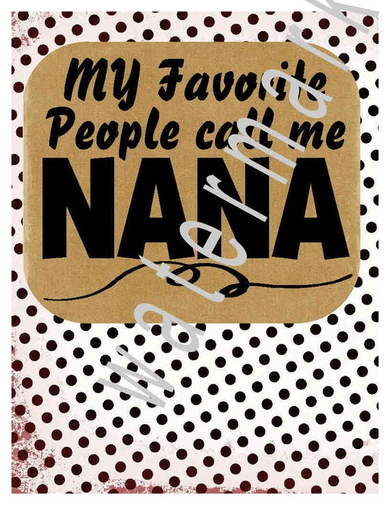 Download Items similar to Nana svg - Nana shirts- silhouette cameo ...