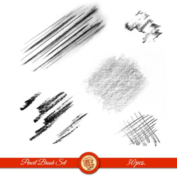 Pencil Art brushes for photoshop